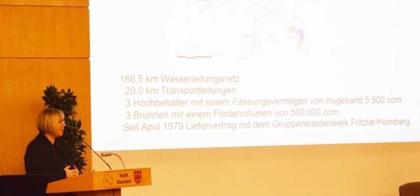 Bürgerversammlung Baunatal, Versorgung Wasser und Strom Baunatal, Silke Engler, Peter lutze