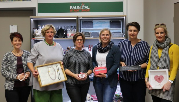 Made in Bauantal, Stadtshop Baunatal, Stadtmarketing Baunatal, Martina Stocker, Gabriele Welke, Melanie Mühlnickel, Kerstin Gleichner, Jenniffer Scheffer, Wiebke Gottschalk, Tanja Faßhold, Birgit Reuter