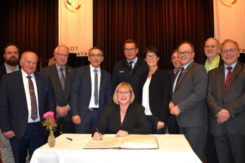 Bürgermeisterin Silke Engler; Baunatal, Stadtverwaltung Baunatal