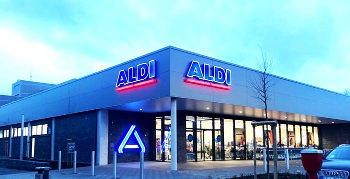 Baunatal, Aldineubau, Aldi, City Baunatal, Einkaufen Baunatal