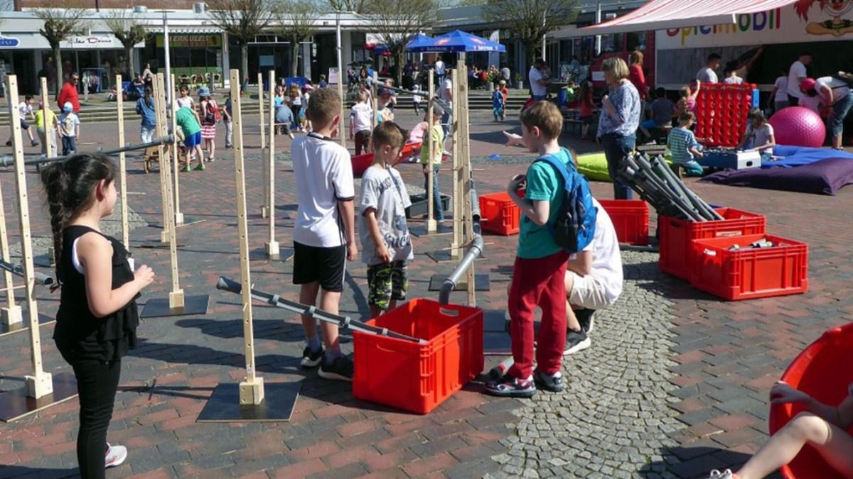 Feen, Sport und Kinderland - Jahresrückblick des Spielmobils Augustine