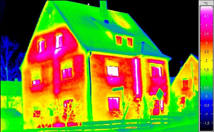 Gebäudethermografie, energieberatung Baunatal, Baunatal