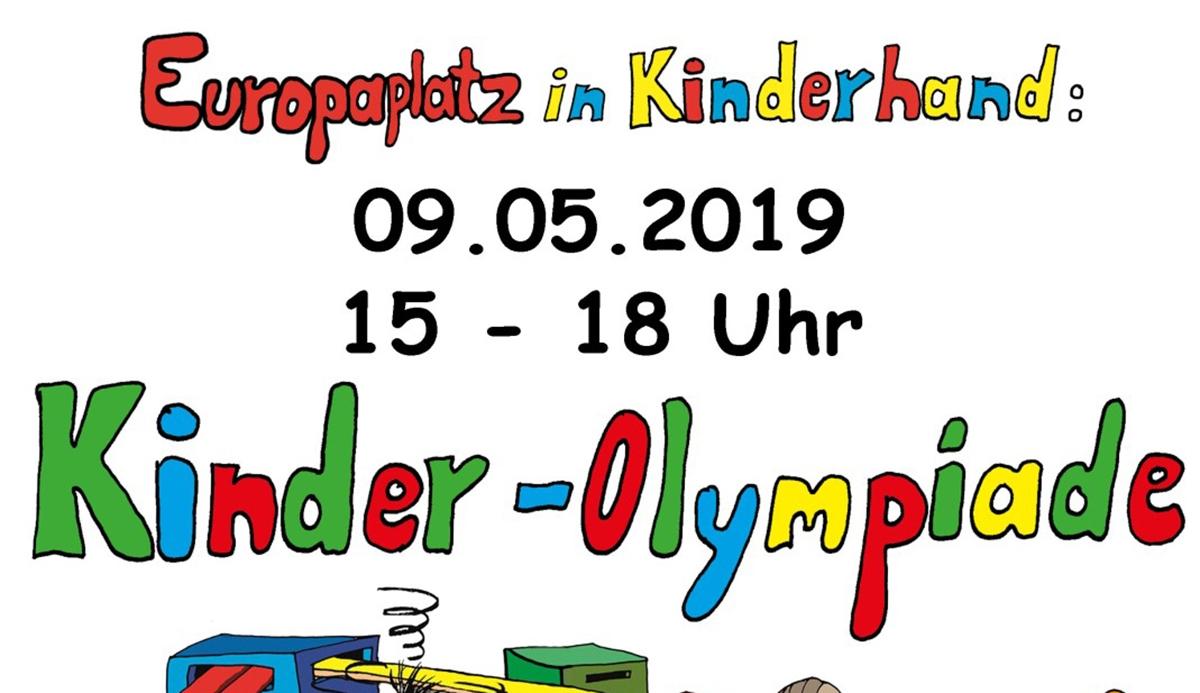 Kinder-Olympiade am 9.5.2019 auf dem Europaplatz