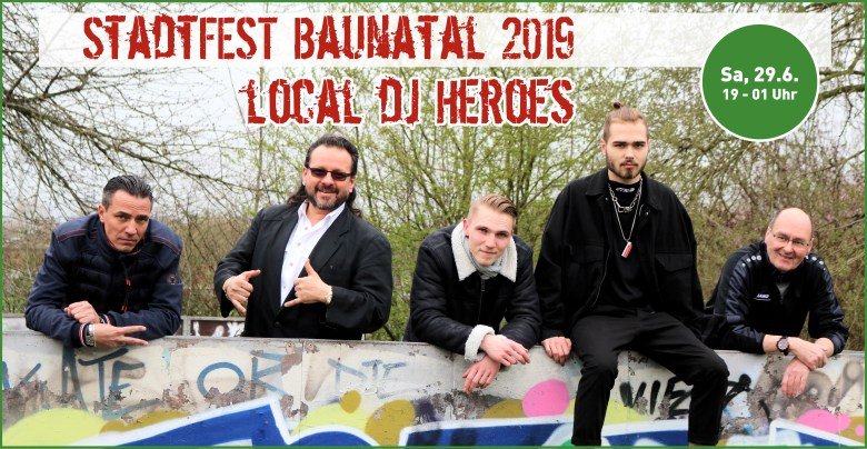 Stadtfest Baunatal, Local DJ Night,