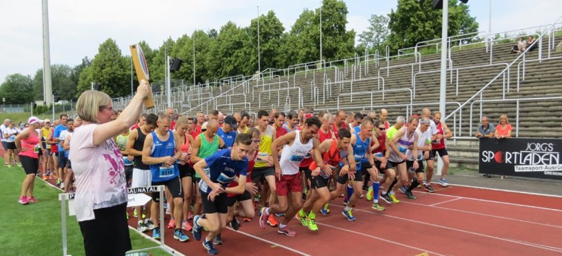 Baunatal rennt, KSV Baunatal, Marathonabteilung, 22.6.2019, Parkstadion Baunatal