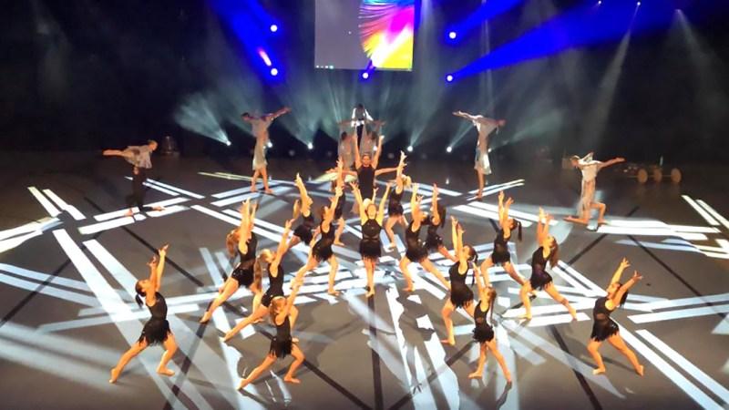 KSV Sportakrobatik begeistert bei Adrenalin Sportshow