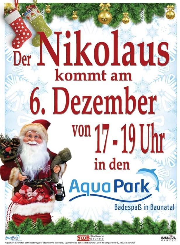Baunatal, AquaPark, Nikolaus, 2019