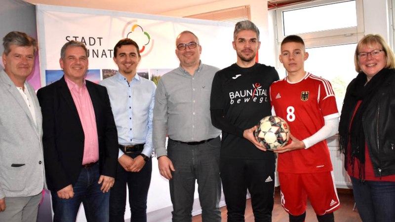 Auftakt zur EM im U21-Fußball der Deutschen Gehörlosen Sportjugend im Sommer