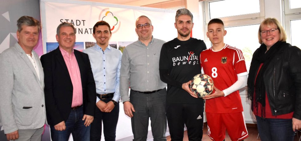 baunatal, deutschland, fussball, em2020, deaf, u21, Dirk Wuschko, Silke Engler , Chris Michelmann, Dylan Volkmann