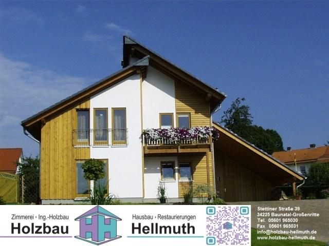 Holzbau Hellmuth, Baunatal, #baunatalzusammen, BaunatalBlog