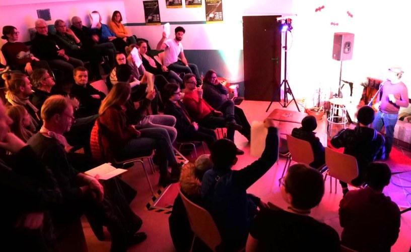 Bauna-Slam, Poetry Slam, JUZ, Jugendzentrum, Baunatal