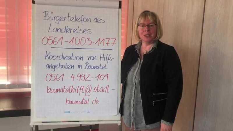 Stadtverwaltung Baunatal koordiniert alle Hilfeangebote