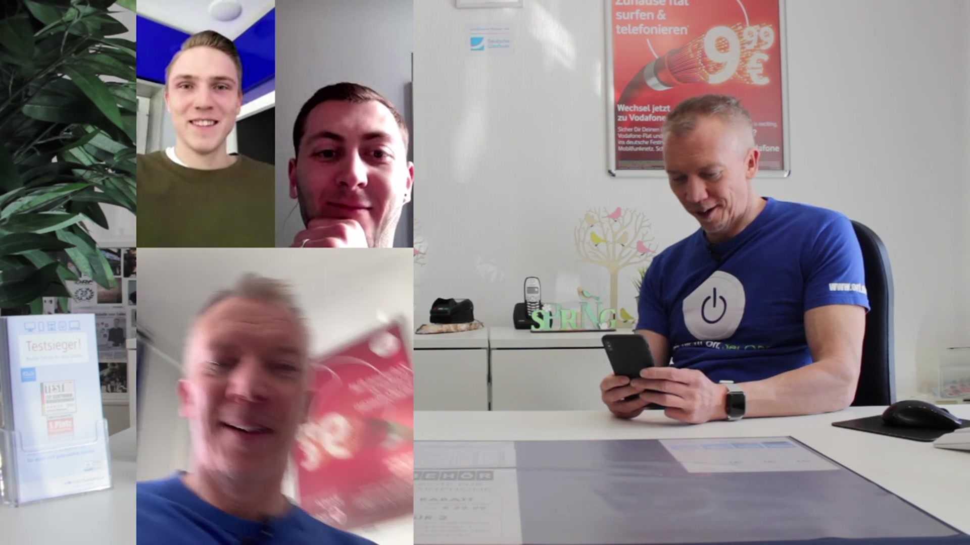 Teil 2 Erklärvideo – Digital Kontakt halten mit der ganzen Familie zeitgleich bei Whatsapp…