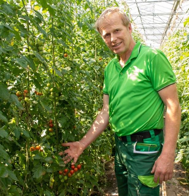 Stefan  Ullrich  Gemüsebau Wochenmarkt  Baunatal