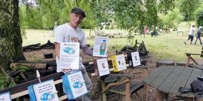 Nachhaltigkeit, Spielmobil Augustine, Waldstation, Baunatal