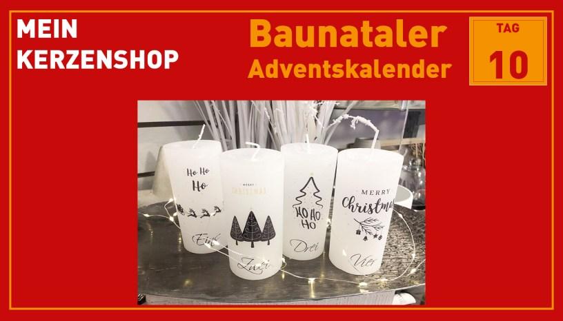 Mein Kerzenshop, Baunatal, Baunataler Adventskalender, Landkreis Kassel, Stadtmarketing, Wirtschaft