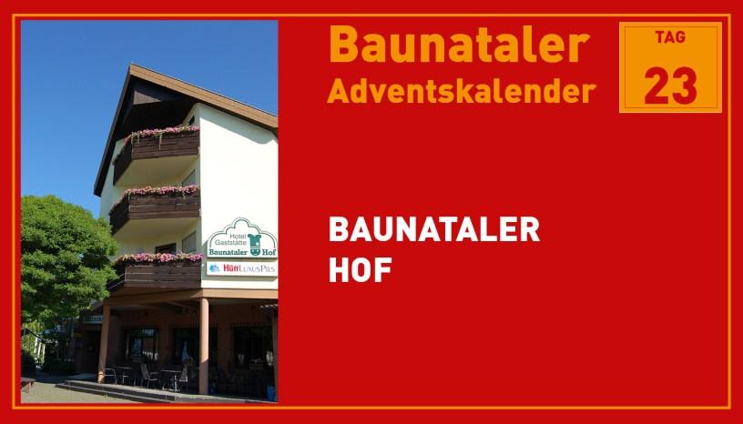 Baunataler Hof, Baunatal, Baunataler Adventskalender, Landkreis Kassel, Stadtmarketing, Wirtschaft
