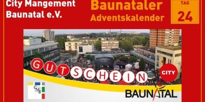 CMB, Baunatal, Baunataler Adventskalender, Landkreis Kassel, Stadtmarketing, Wirtschaft