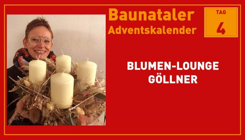 Blumen-Lounge Göllner, Baunatal, Baunataler Adventskalender, Landkreis Kassel, Stadtmarketing, Wirtschaft