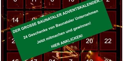 Baunataler Adventskalender, Danke Baunatal, Baunatal, Baunagram, Stadtmarketing Baunatal