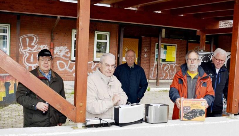 Baunatal, Repair Cafe, Nicola Capozzola, Kurt Nedell, Fritz Barkhof, Walter Steil, Dieter Schmidt