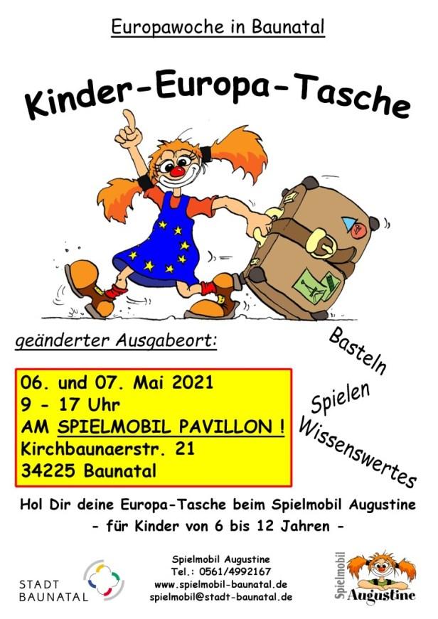 Baunatal, Spielmobil, Kinder-Europa-Tasche