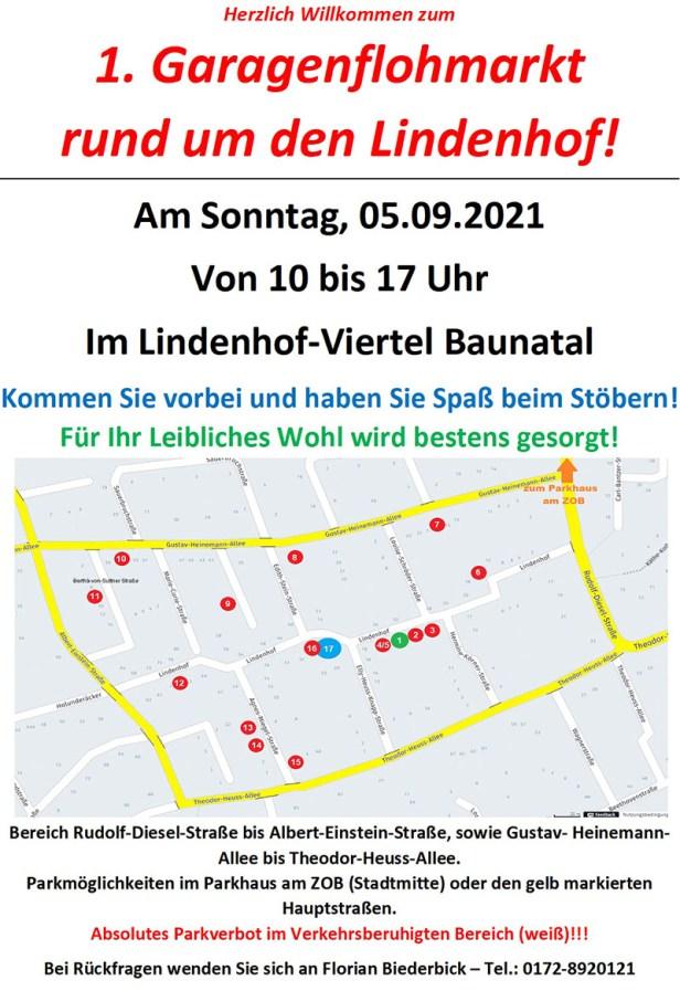 Baunatal, Garagenflohmarkt, Lindenhof, Altenbauna