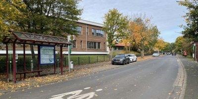 Bauarbeiten, Friedrich Ebert Schule, 2021, FES