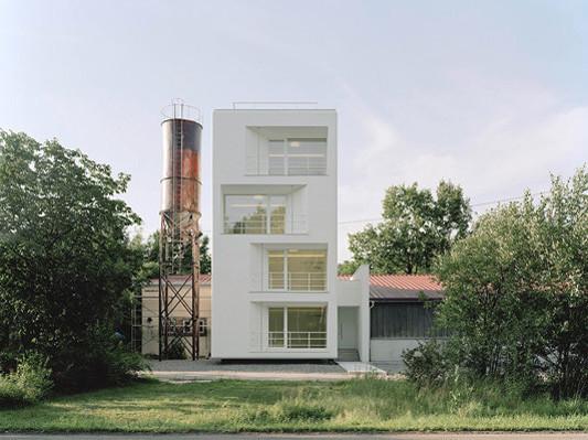 Büroturm in Kusterdingen-Mähringen Dämmstoffe Büro/Verwaltung