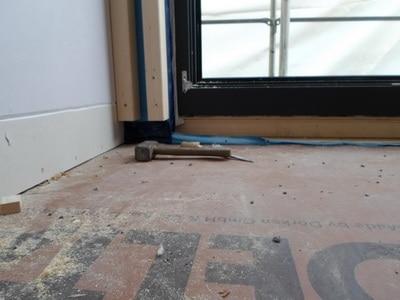 Inspektion Fußboden