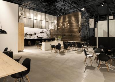 Innenausbau – Fußboden Cetris Platten Messe
