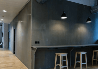 Interior – walls & ceiling for office building