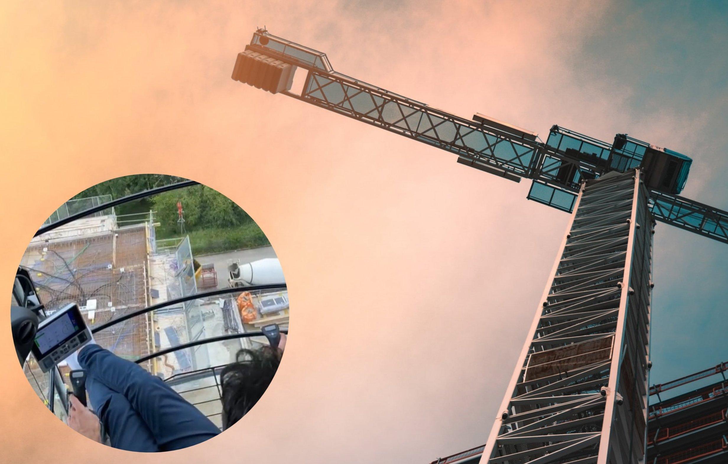 [VIDEO] Zakoračite u dizalicu i saznajte kako izgleda pogled na gradilište iz zraka