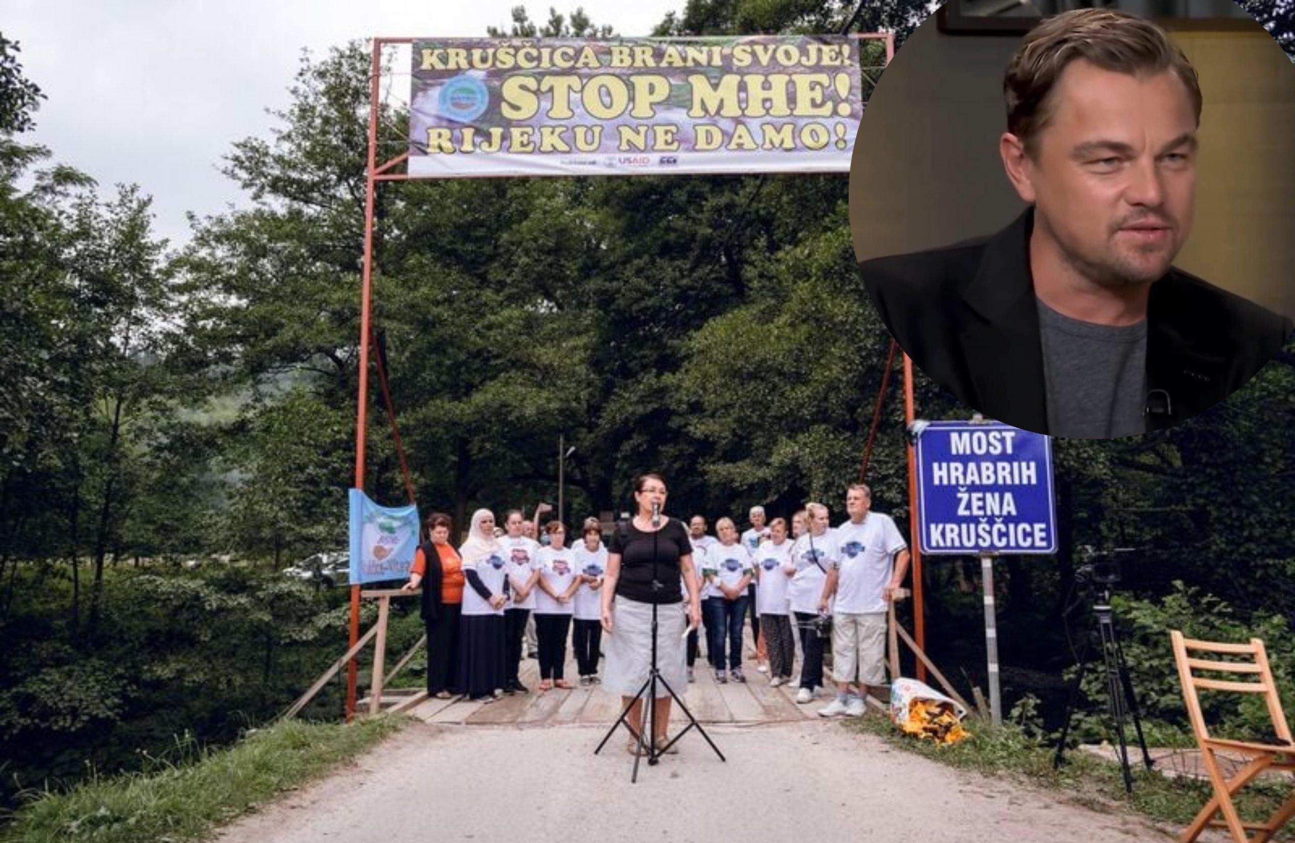 DiCaprio dao podršku aktivisticama iz BiH koje su uspjele spriječiti izgradnju mini-hidroelektrana