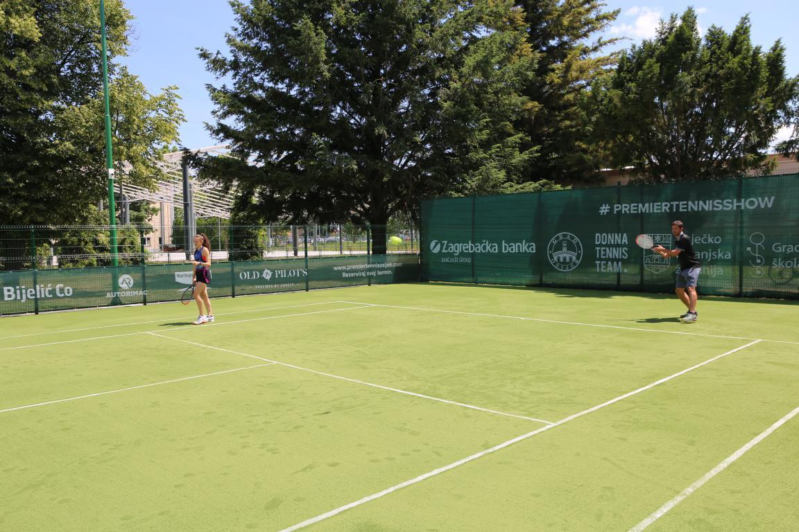 Otvoren prvi javni teniski teren u Osijeku