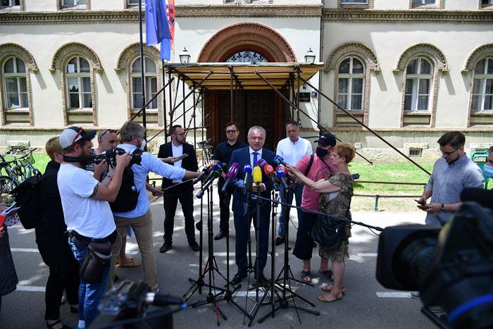 Tomašević, Horvat, Vanđelić i Hanžek sastančili o obnovi Zagreba: 'Identificirali smo sve što zajedno trebamo riješiti'
