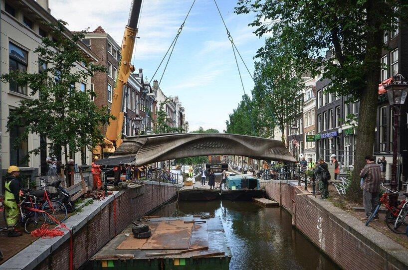 MX3D most kao spoj prošlosti i sadašnjosti