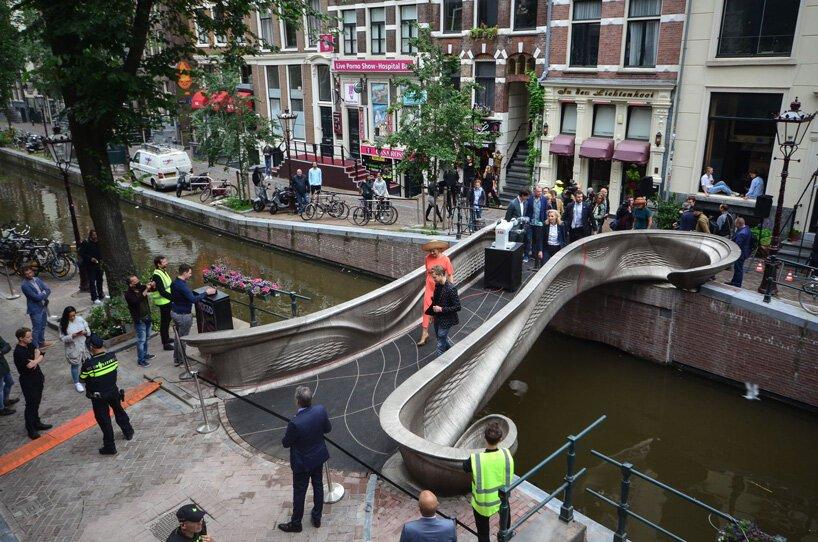 3D printani most u Amsterdamu