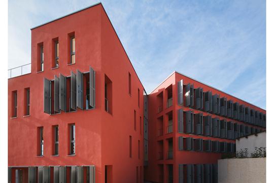 crvena kuća u Opatiji