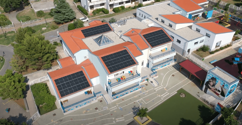 Dječji vrtić koji proizvodi struju: Nakon energetske obnove na red došla solarna elektrana