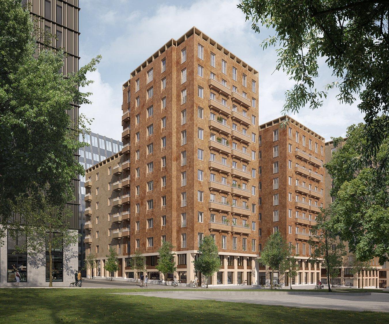 Pogledajte kako izgleda jedan od najviših stambenih kompleksa na svijetu izgrađen potpuno od drva