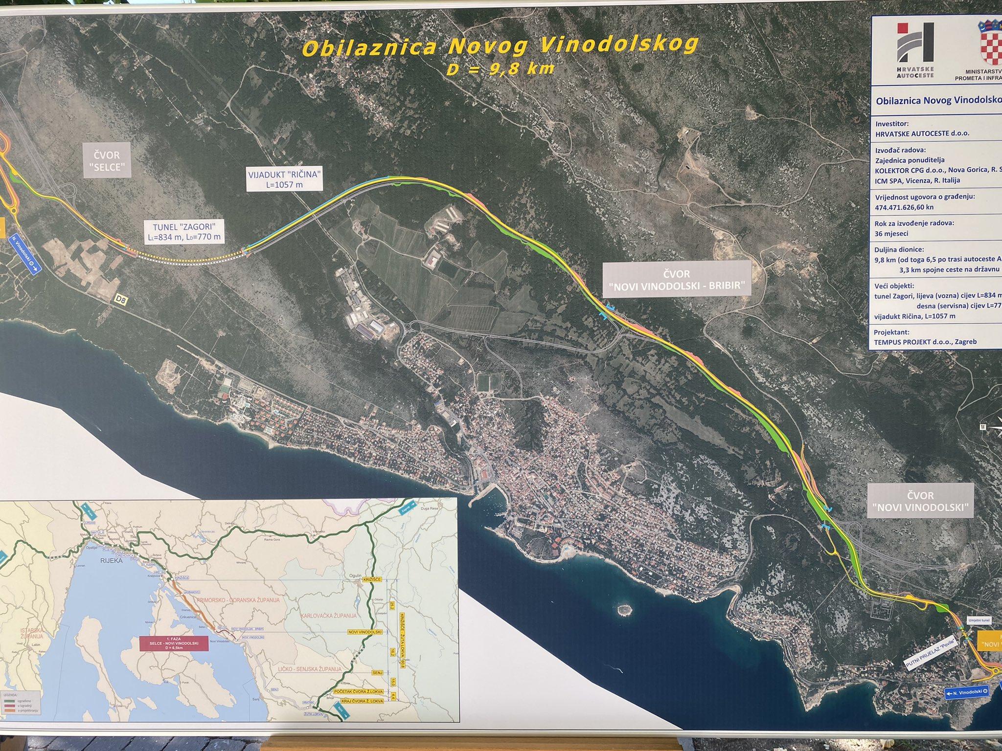 Potpisan ugovor za izgradnju prve dionice autoceste A7 od 593 milijuna kuna