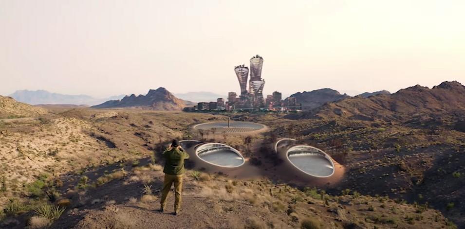 Veliki planovi: U tijeku pripreme za izgradnju novog grada usred pustinje