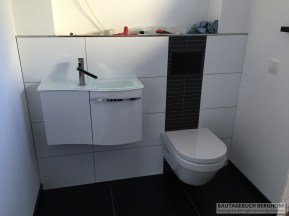 Das fertige Gäste-WC