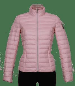 Ljusrosa dunjacka från 48 7 Sweden