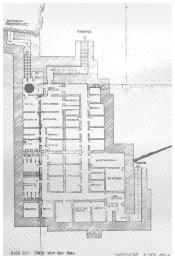Grundrissplan der Anlage