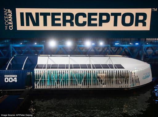 Ya está en camino a RD la solución que frenará el plástico hacia el Mar Caribe, Interceptor 004