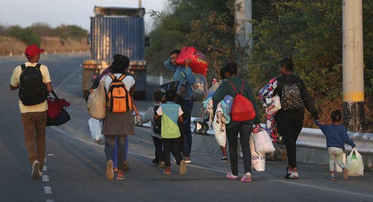Estremecedor: Monja relata lamentables historias de migrantes venezolanos. Algunos abandonan a sus hijos.
