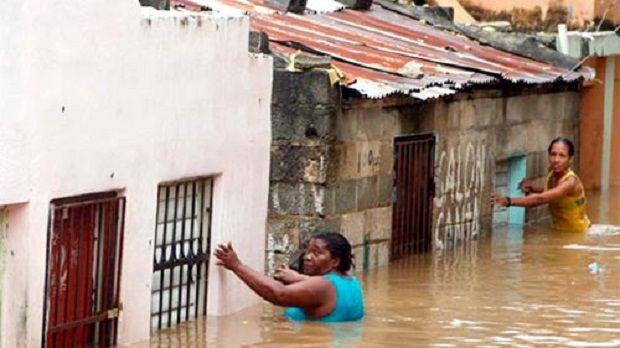Más de mil personas desplazadas en el país a causa de las lluvias