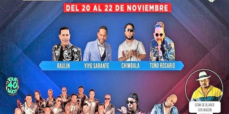 Hoy es la segunda noche del 'Latin Music Tours' en Punta Cana